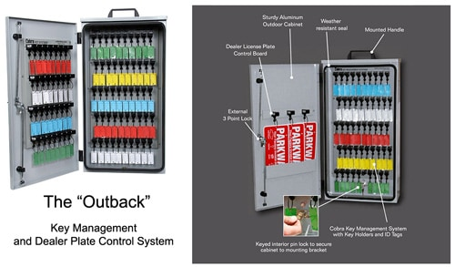 Outback Dealer Key Cabinets | Mechanical Key Control Cabinets ...