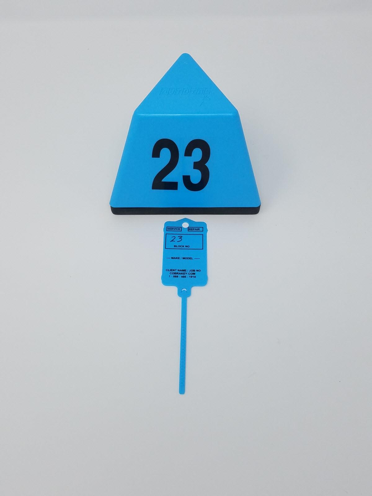 Cobra Key BLUE topper